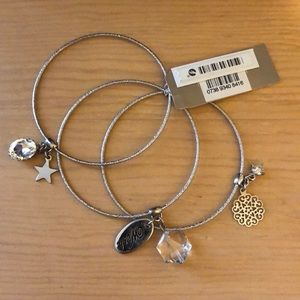 Nordstrom Bangle bracelets with charms